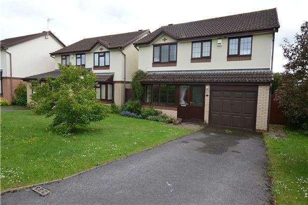 4 Bedrooms Detached House for sale in Alverton Drive, Bishops Cleeve, CHELTENHAM, GL52 8TD