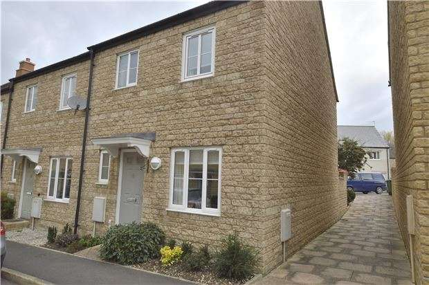3 Bedrooms End Of Terrace House for sale in Knapps Crescent, Woodmancote, CHELTENHAM, Gloucestershire, GL52 9HG