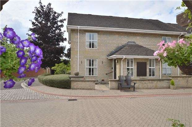 2 Bedrooms End Of Terrace House for sale in Morningside Courtyard, Idsall Drive, Prestbury, Cheltenham, Glos, GL52 3BU
