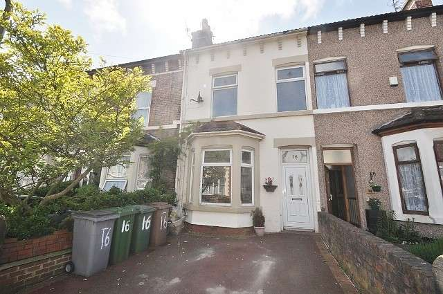 4 Bedrooms House for sale in Longland Road, Wallasey