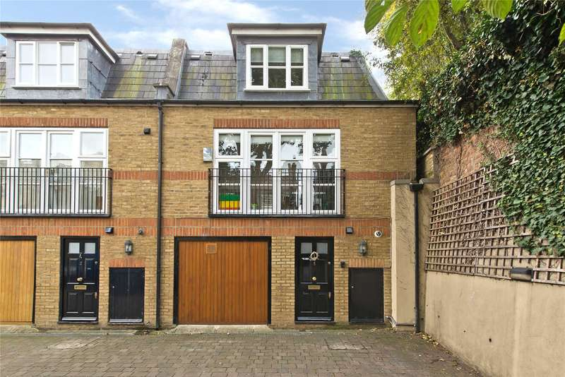 2 Bedrooms Mews House for sale in Wandle Mews, 16 Merton Road, London, SW18