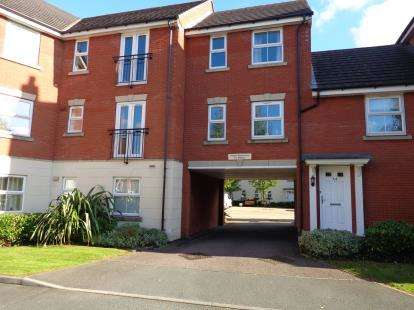 2 Bedrooms Flat for sale in Old Station Road, Syston, Leicester, Leicestershire
