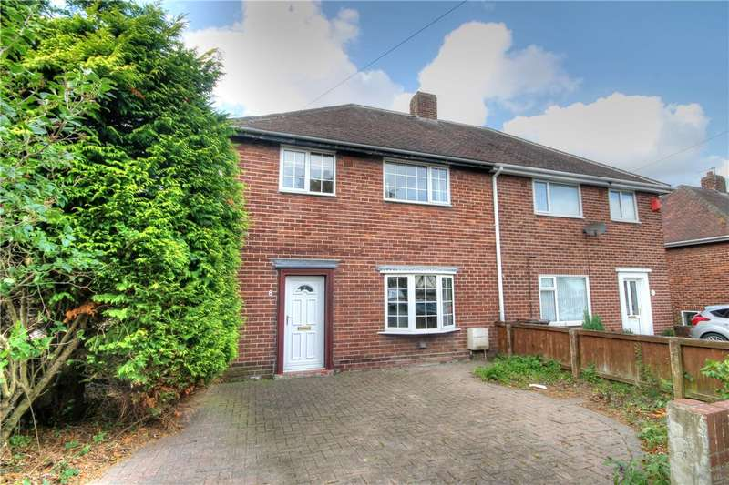 3 Bedrooms Semi Detached House for sale in Riding Hill, Great Lumley, Chester Le Street, DH3