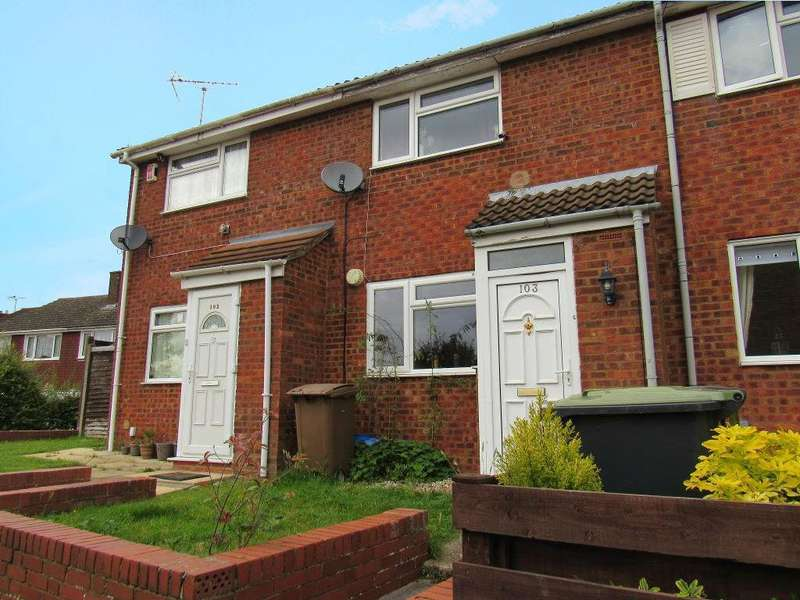 2 Bedrooms Terraced House for sale in Brussels Way, Luton, Bedfordshire, LU3 3TJ