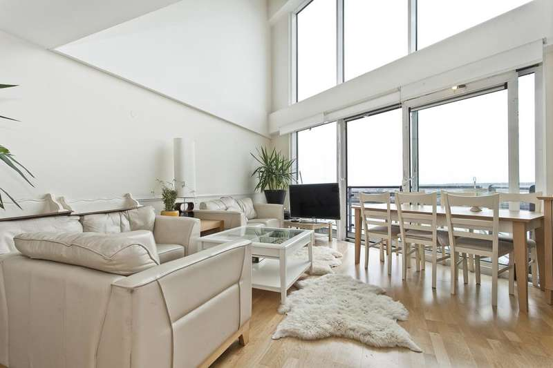3 Bedrooms Penthouse Flat for sale in Sunderland Point, Hull Place, London E16