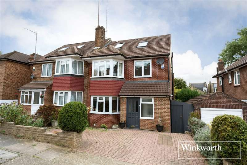 4 Bedrooms Semi Detached House for sale in Howcroft Crescent, Finchley, London, N3