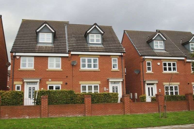 4 Bedrooms Semi Detached House for sale in Hutton Way, Framwellgate Moor