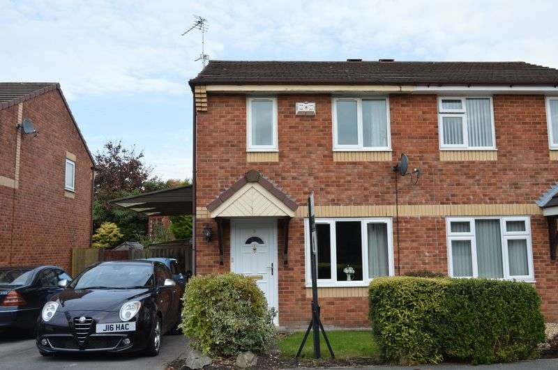 2 Bedrooms Semi Detached House for sale in Waddington Close, Lowton, WA3 2DR