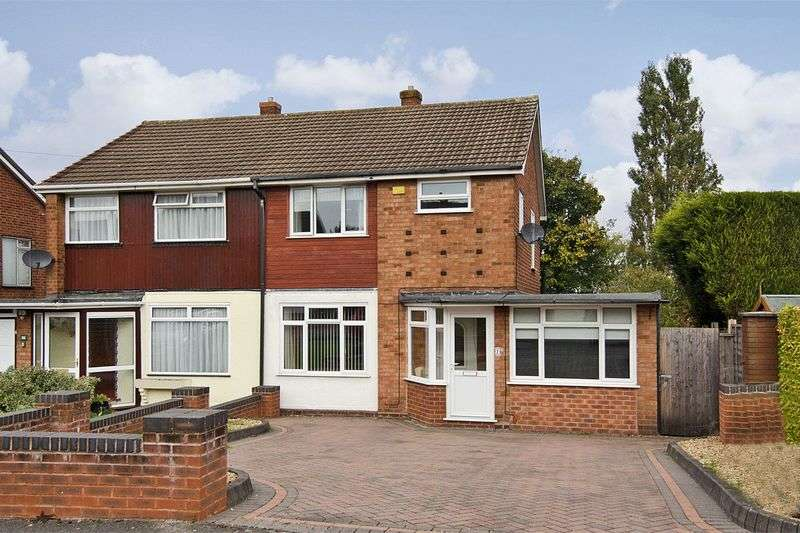 4 Bedrooms Semi Detached House for sale in Freeth Road, Brownhills, Walsall
