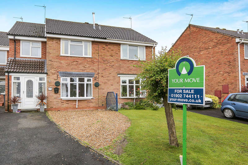 4 Bedrooms Semi Detached House for sale in Shackleton Drive, Perton, Wolverhampton, WV6