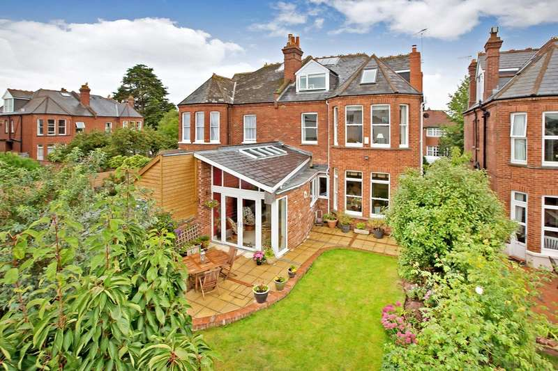 5 Bedrooms Semi Detached House for sale in St Leonards, Exeter