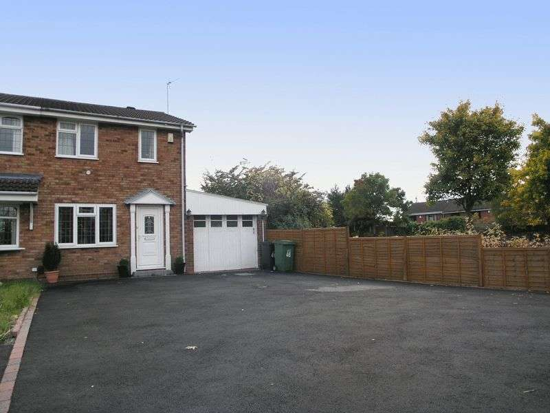 2 Bedrooms Semi Detached House for sale in BRIERLEY HILL, Amblecote, Barbrook Drive