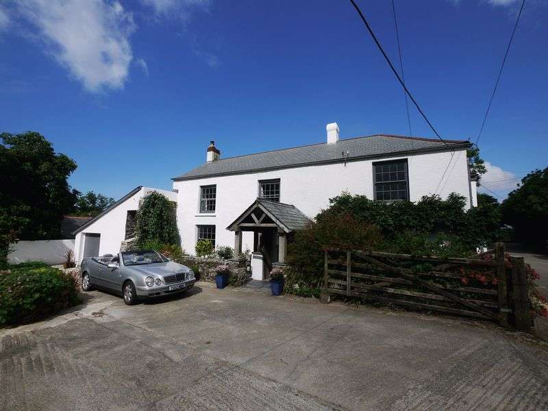 4 Bedrooms Detached House for sale in Gooseham, Bude