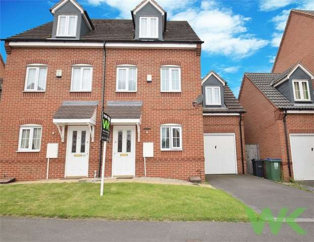 4 Bedrooms Semi Detached House for sale in Old College Drive, WEDNESBURY, West Midlands