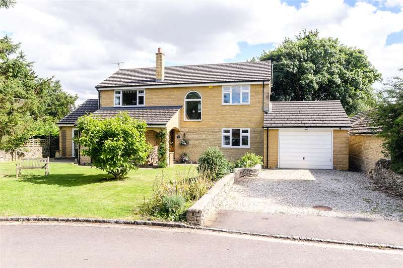 4 Bedrooms Detached House for sale in Bourton Close, Clanfield, Bampton, Oxfordshire, OX18