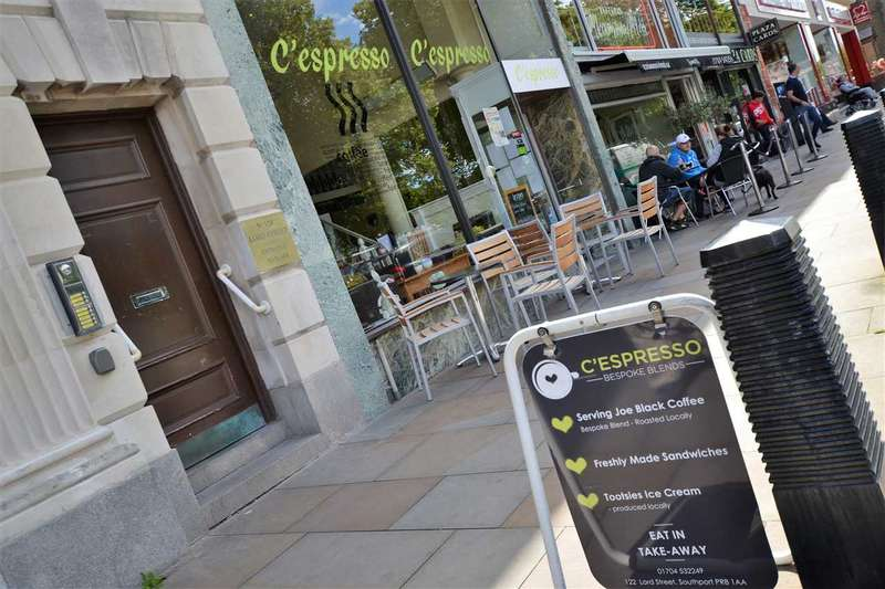 Commercial Property for sale in lord street, cespresso, southport