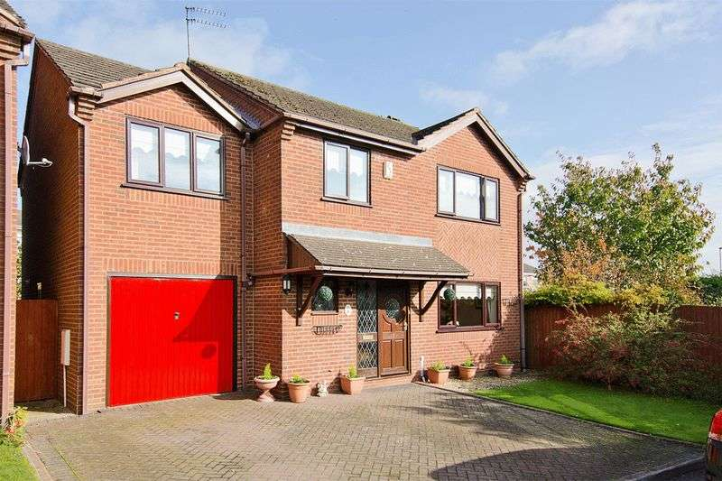 4 Bedrooms Detached House for sale in Bower Lane, Etching Hill, Rugeley