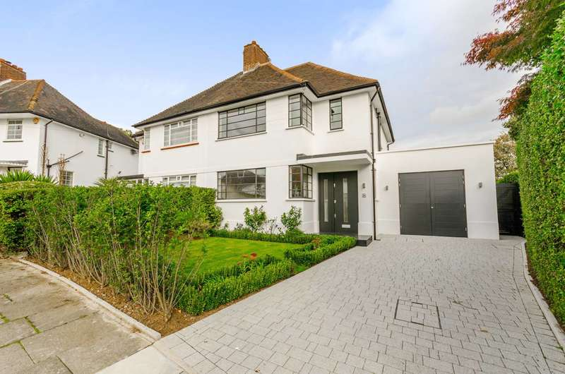4 Bedrooms House for sale in Howard Walk, Hampstead Garden Suburb, N2