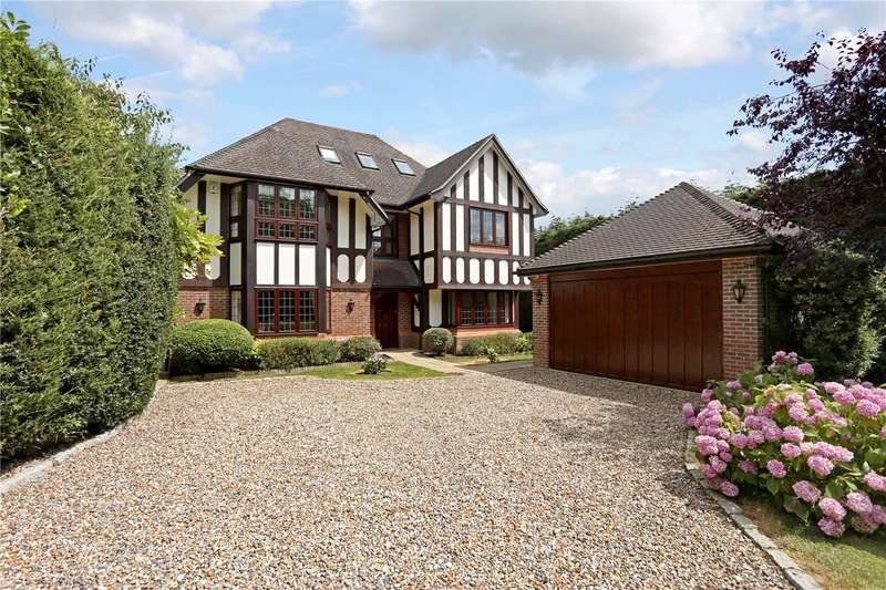 5 Bedrooms Detached House for sale in St. Leonards Hill, Windsor, Berkshire, SL4