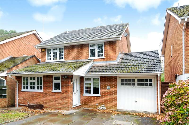 4 Bedrooms Detached House for sale in Wellington Road, Sandhurst, Berkshire, GU47