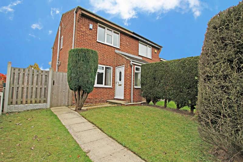 2 Bedrooms Semi Detached House for sale in Fleming Way, Flanderwell, Rotherham
