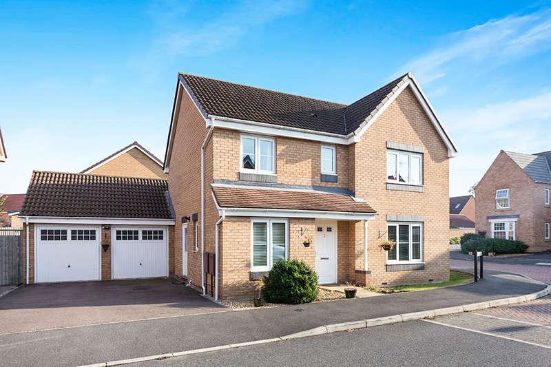 4 Bedrooms Detached House for sale in Ocean Court, Derby, DE24