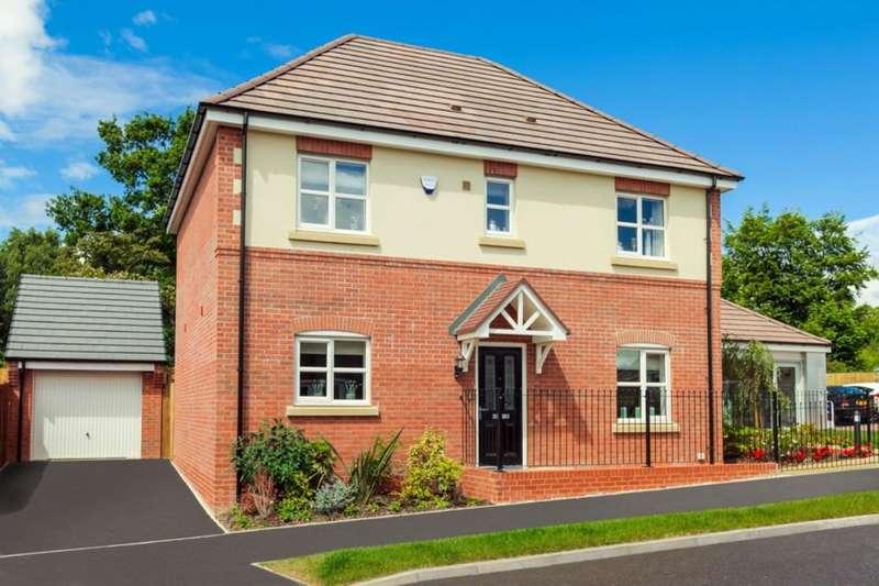 4 Bedrooms Detached House for sale in Rowleston Close, Brailsford, DE6