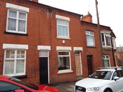 2 Bedrooms Terraced House for sale in Tyrrell Street, Leicester, Leicestershire