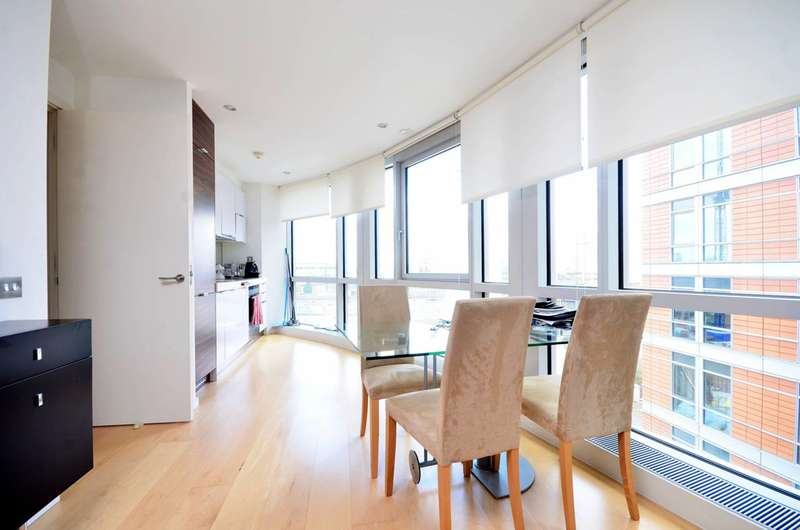 1 Bedroom Flat for sale in Ontario Tower, Canary Wharf, E14