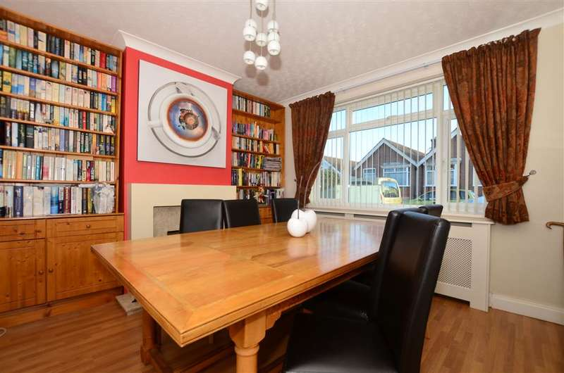4 Bedrooms Semi Detached House for sale in Baliol Road, Whitstable, Kent
