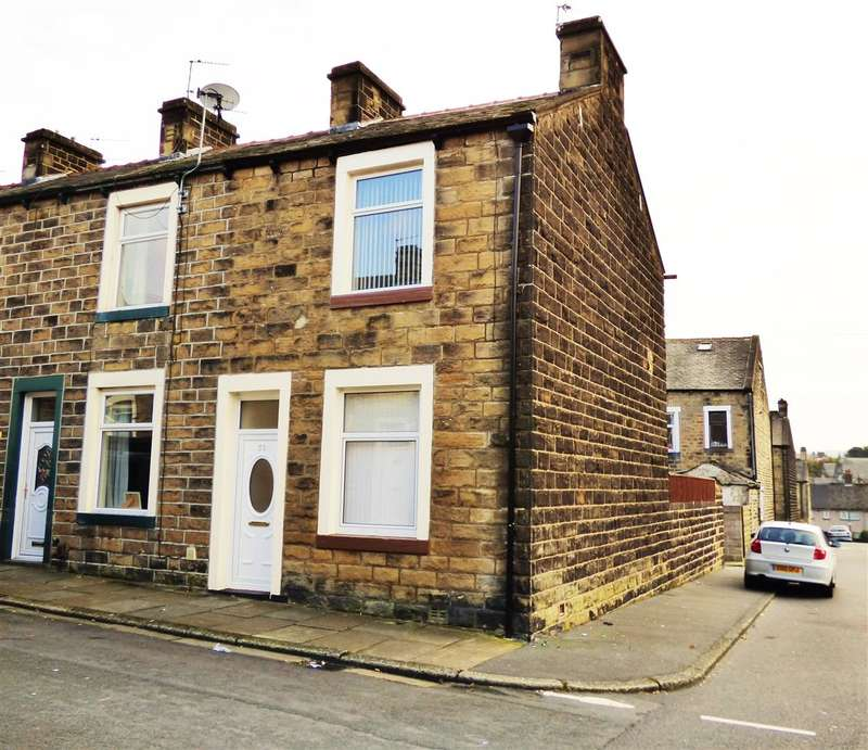 2 Bedrooms End Of Terrace House for sale in Cleveland Street, Colne