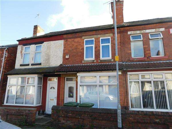 2 Bedrooms Terraced House for sale in Victoria Street, Mansfield