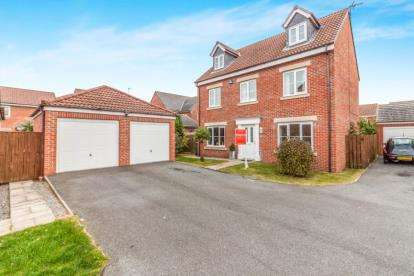 5 Bedrooms Detached House for sale in Kingswood, Penshaw, Houghton Le Spring, Tyne and Wear, DH4