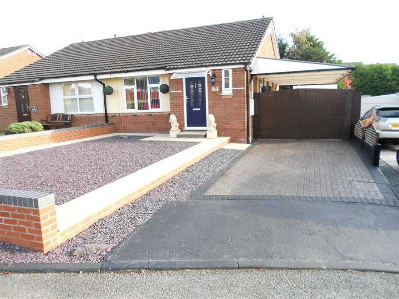 2 Bedrooms Property for sale in Kinloch Close, Crewe, Cheshire
