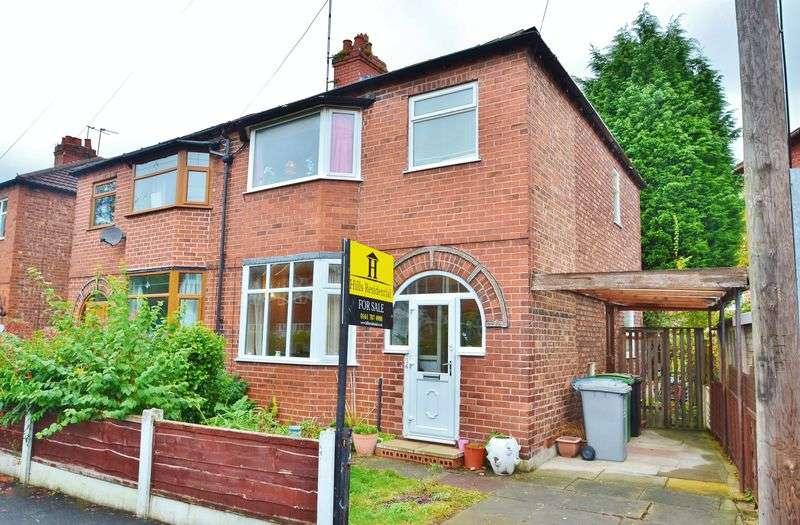 3 Bedrooms Semi Detached House for sale in Devon Road, Flixton