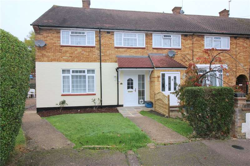 3 Bedrooms End Of Terrace House for sale in Grantham Green, Borehamwood, Hertfordshire, WD6