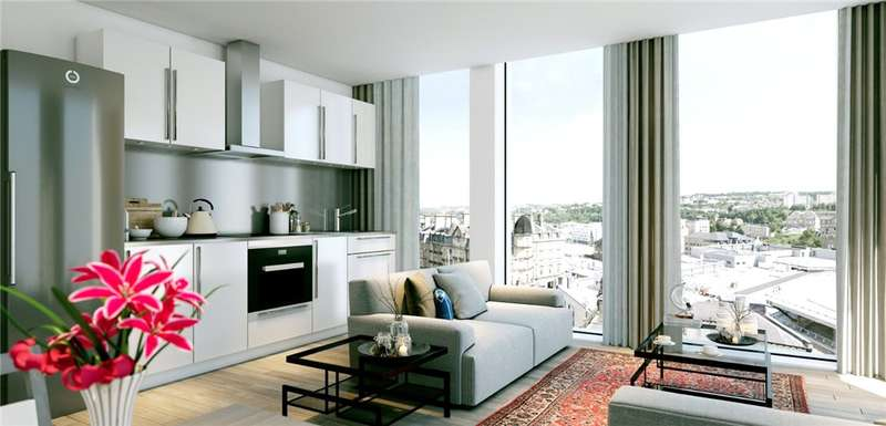 1 Bedroom Apartment Flat for sale in Charles Street, Bradford, West Yorkshire, BD1