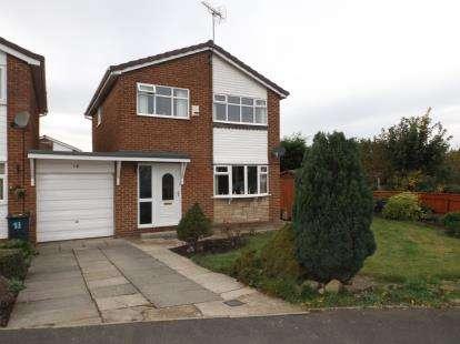 3 Bedrooms Detached House for sale in Kielder Drive, Darlington, County Durham