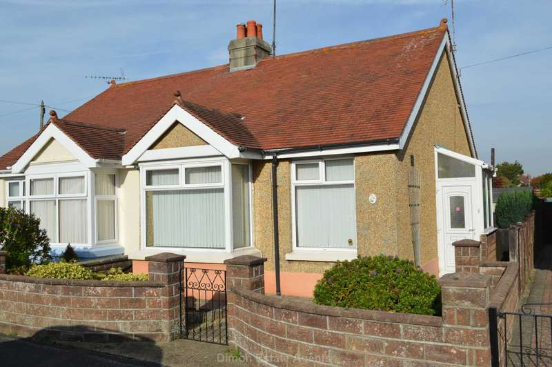 2 Bedrooms Semi Detached Bungalow for sale in Middlecroft Lane, Gosport