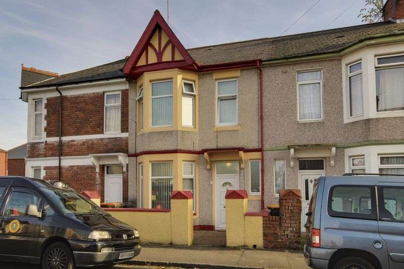 4 Bedrooms Terraced House for sale in Eton Road, Newport
