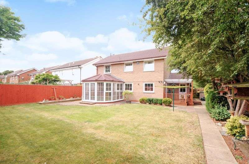 4 Bedrooms Detached House for sale in Knapp Close, Abingdon