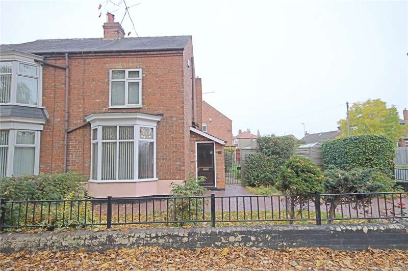 2 Bedrooms Semi Detached House for sale in Whinfield Road, Darlington, Co Durham, DL1