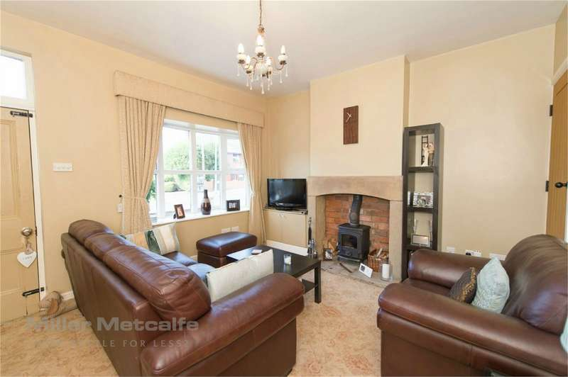 3 Bedrooms Semi Detached House for sale in The Green, Eccleston, Chorley, Lancashire