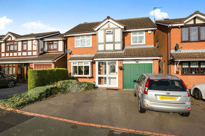4 Bedrooms Detached House for sale in Fordham Grove, Pendeford, Wolverhampton, WV9