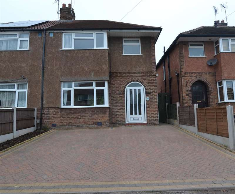 3 Bedrooms Semi Detached House for sale in Reva Road, Stafford