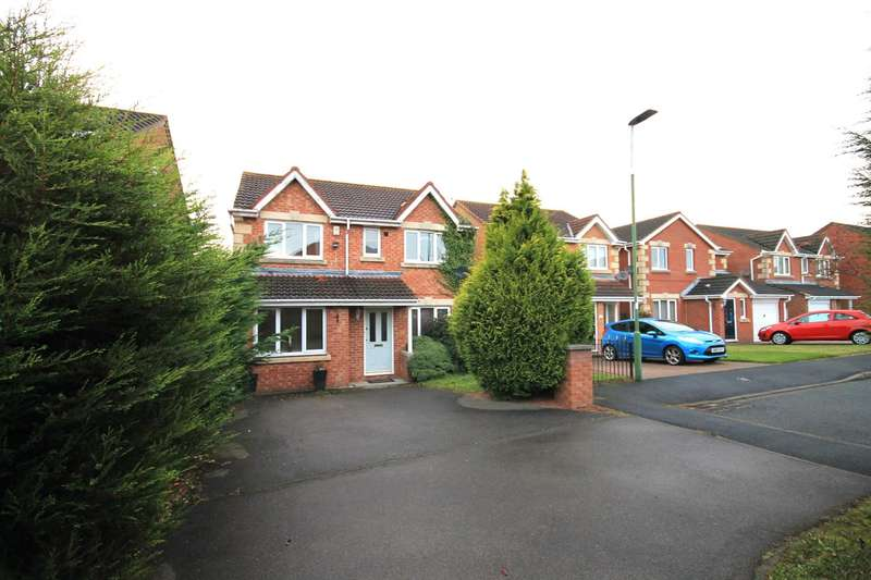 4 Bedrooms Property for sale in Cherrytree Drive, Langley Park, Durham
