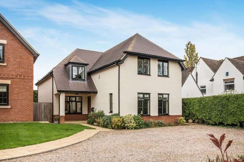 4 Bedrooms Detached House for sale in Church Way, Weston Favell Village, Northampton