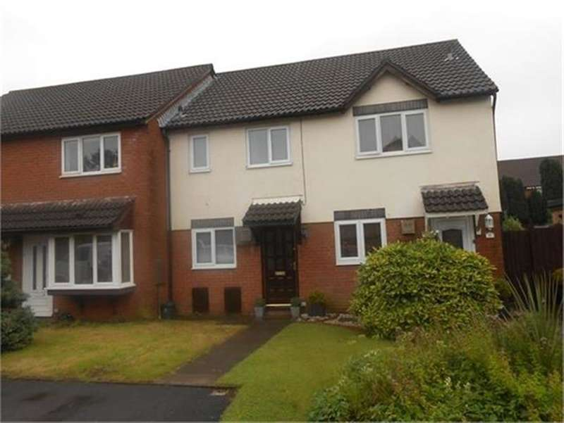 2 Bedrooms Terraced House for sale in Clos Healy, Gowerton, Swansea