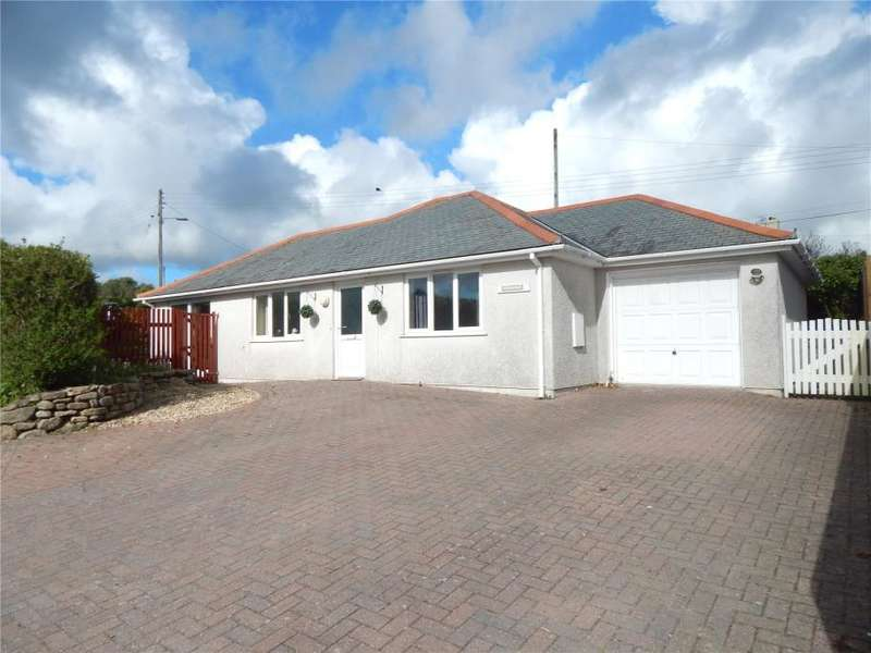 3 Bedrooms Detached Bungalow for sale in Chenoweth, Pengersick Croft, Praa Sands