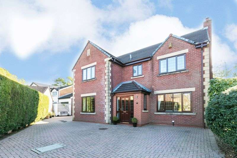 5 Bedrooms Detached House for sale in The Heys, Parbold, WN8 7DU